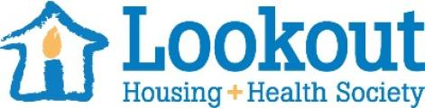 Lookout Housing and Health society logo