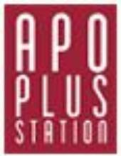 アポプラスステーション株式会社のロゴ