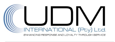 UDM International logo