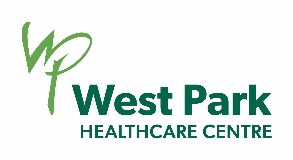 Logo West Park Healthcare Centre