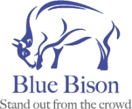 Blue Bison Recruitment logo