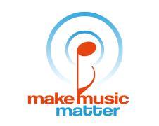 Make Music Matter logo