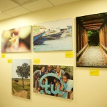 Our associates' original photography is featured on each floor of our office.