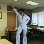 Me as Elvis on Haloween