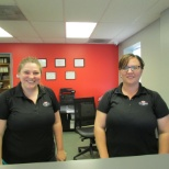 Our counter staff at our Baltimore, MD, store.