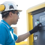 Atlas Copco Power Technique investigating an issue.