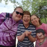 Emmaus Homes photo: Smiling in the Gorgeous Weather