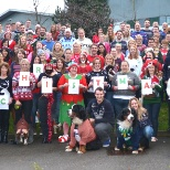 Pets at Home photo: Save The Children Xmas Jumper Day