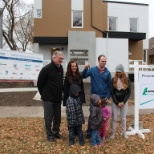 Lafarge Canada photo: The NetZero Energy Precast Concrete Homes, the start of a new thinking for durable buildings.