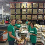 Associates in Rhode Island participating in a Fidelity Cares Transformation Day.