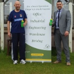 photo of ESS Employment, ESS donates sports bottles to local cricket club