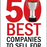 We were honored to be named one of the 50 Best Companies to sell for by Selling Power magazine