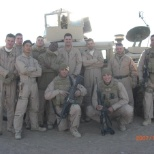 Out on a Forward Operation in Al Anbar Provance