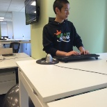 DraftKings photo: Standing desks