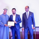 Awarded as best employee from the V.C Al-Futtaim Group