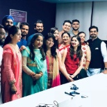 photo of Genpact, Diwali Celebration at office