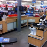 My main workspace at walmart