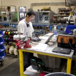 Manufacturing team member in one of our six nationwide manufacturing plants.