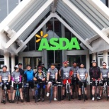 Tour de Asda is underway!