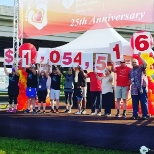 25th Anniversary of the American Heart Walk