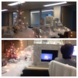 Ledcor photo: Our Ledcor team embraces the holiday spirit by decorating their workspaces.