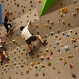 Digital City - climbing wall