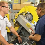 We're never short of collaboration on our manufacturing floors