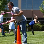 To celebrate Values Day, employees participated in a variety of team-building exercises.