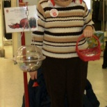 me doing the kettles at Bayfield mall in Barrie