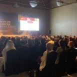 This was my 3rd event for the whole UAE I have 200 big people across the global