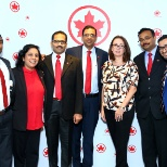 Air Canada photo: Air Canada annual celebration