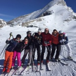 Every year our colleagues embark on a ski trip together.