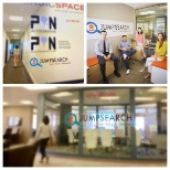 JumpSearch photo: We're enjoying our new office at PandoLab