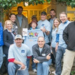 Teradata employees help out at the Family House in San Francisco.