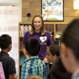 Marketo Gives Back - Elementary school Library Reopening