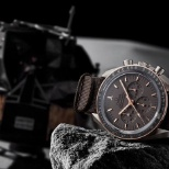 Omega photo: Commemerating the Omega Speedmaster and the Apollo Moon Mission.