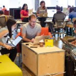 Facebook photo: A tradition at Facebook, hackathons are opportunities for employees to work on new hacks/projects.