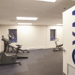 We believe in healthy bodies and minds, use the corporate gym 24/7.