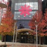 PRA Health Sciences photo: Beautiful Fall day in our Reading, UK Office