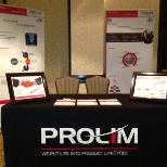PROLIM Corporation photo: PROLIM Booth at PLM Conference