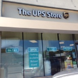 UPS photo: Storefront facing Woodward Ave.