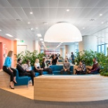 PwC photo: PwC Australia - Conversation pit