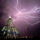 City of Medicine Hat photo: Lightning (Teepee)