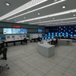 Qatar Petroleum photo: operation center