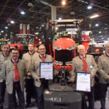 AGCO Corporation photo: Massey Furgeson earned two major awards at the 2012 Hungarian Farm Machinery Expo
