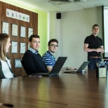 Kainos photo: A session of the WebOps Academy training course in full swing, 2016