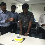 Konica Minolta Business Solutions Inc photo: Celebrating Co-Worker Birthday