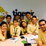 In Tigerair office