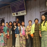 Asian Development Bank photo: One of the self-help groups established under 9155-BHU:  Advancing Economic Opportunities of Women