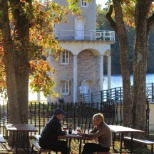 Autumn is the best time to enjoy some local wine by the Lake